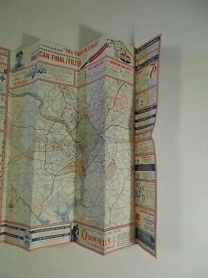 Vintage 1964 Holiday Inn Alexandria Virginia Hotel Travel Road Map Brochure-B2 12