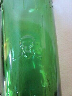 alte Apothekerflasche Giftflasche Totenkopf Gift-Flasche grün 25cl Poison Veleno 4
