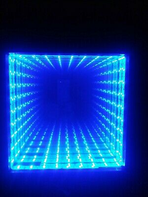 Infinity Mirror color changing LEDs with 44 key remote.