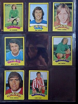 A&Bc 1974 Footballers Red Back (Good+) 73 To 132 *Pick The Cards You Need* 8