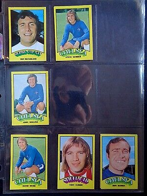 A&Bc 1974 Footballers Red Back (Good+) Cards 1 To 72 *Pick The Cards You Need* 4