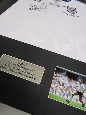 Frame For Any Signed Football Shirt and  2 photos Landscape