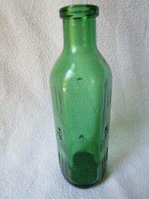 alte Apothekerflasche Giftflasche Totenkopf Gift-Flasche grün 25cl Poison Veleno 2