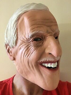 Bruce Forsyth Mask Full Head Latex Play Your Cards Strictly Come Masks 2