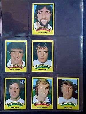 A&Bc 1974 Footballers Red Back (Good+) Cards 1 To 72 *Pick The Cards You Need* 2
