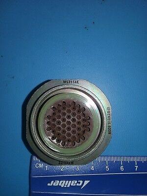 Circular Connector, MS3114E22-55SW, Bendix / Amphenol, 55 POS Solder ST Jam Nut