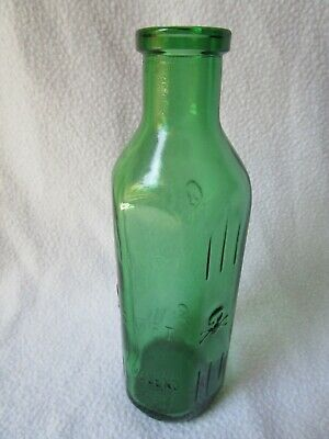 alte Apothekerflasche Giftflasche Totenkopf Gift-Flasche grün 25cl Poison Veleno 8