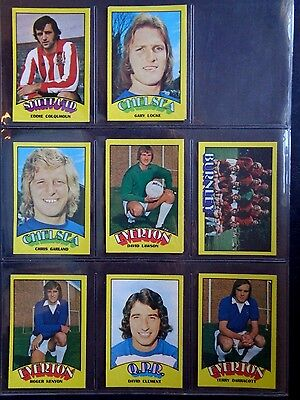 A&Bc 1974 Footballers Red Back (Good+) Cards 1 To 72 *Pick The Cards You Need* 6