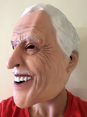 Bruce Forsyth Mask Full Head Latex Play Your Cards Strictly Come Masks 3