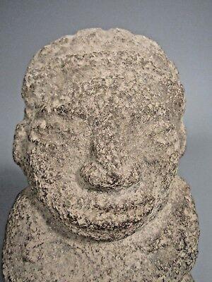 Costa Rica Nicoya Carved Stone Anthropomorphic Idol Statue ca. 500-800 AD 3