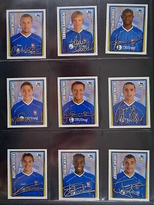 Merlin Premier League 2001-2002 (100 To 199) *Select The Stickers You Need* 12