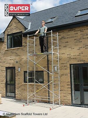 Super eDIY Aluminium Scaffold Tower - 5m Reach height - 3m Platform height 2