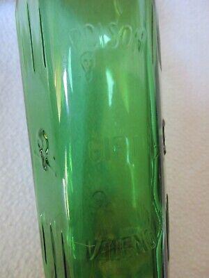 alte Apothekerflasche Giftflasche Totenkopf Gift-Flasche grün 25cl Poison Veleno 3