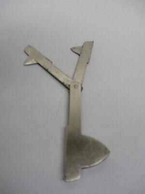 Aderlassmesser für Pferde &Rinder mit 2 versch. Klingen,alt,Tiermedizin,vor 1940 2