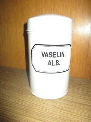Altes Apotheker-Gefäß Porzellan, Salbenkruke, Kruke, Standgefäß, für 1 kg Salbe 3