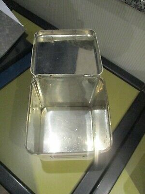 alte Apotheker Horo Blechdose Teedose 3 Liter Vorratsdose Gebäckdose Vintage 2