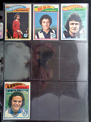 VG *PLEASE CHOOSE CARDS* TOPPS 1978 FOOTBALL ORANGE BACK CARDS 325 TO 378