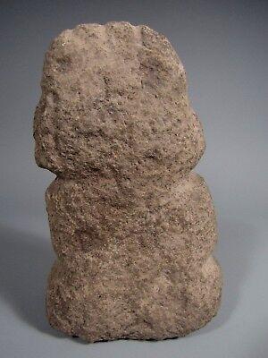 Costa Rica Nicoya Carved Stone Anthropomorphic Idol Statue ca. 500-800 AD 7