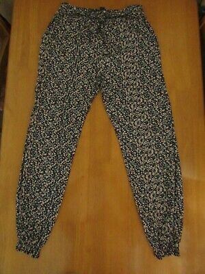 Girls H & M & Primark Floral Print Trousers Printed Crop Top Outfit  Age 10 - 12 4