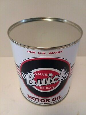 Vintage Buick Motor Oil Can 1 qt - (Reproduction Tin Collectible) 2