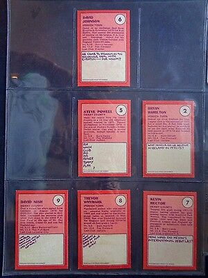 A&Bc 1974 Footballers Red Back (Good+) Cards 1 To 72 *Pick The Cards You Need* 3