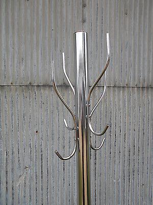 AntiqueVintage 20s30s Coat Racks Cast Iron Base Chrome Reconditioned STeAm PuNk! 7