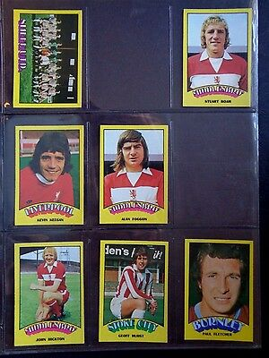 A&Bc 1974 Footballers Red Back (Good+) 73 To 132 *Pick The Cards You Need* 2