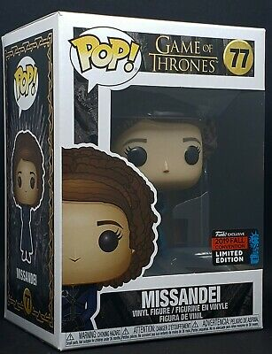 Funko Pop + Protector! Game of Thrones #77 - Missandei 2019 NYCC Exclusive MINT 2