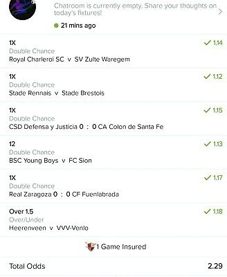 BetWIN Football Predictions - Professional Sports Betting Tips 10