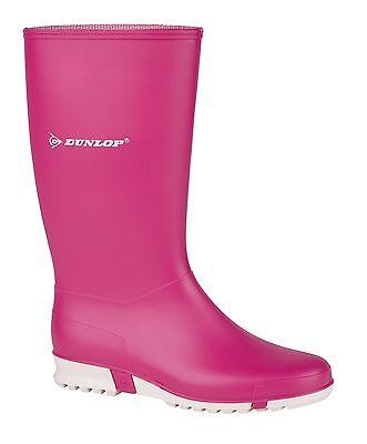 Ladies Mens Dunlop Wellington Boots Hunting Waterproof Rain Festival Wellies 4