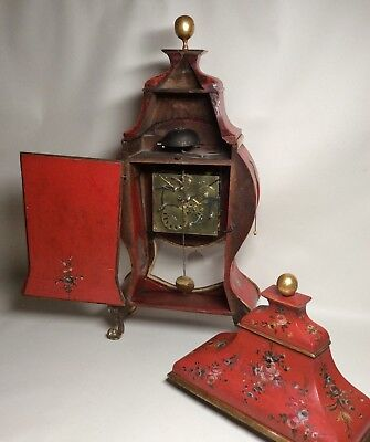 Large Late 18th Century Swiss/South German 1/4 Repeater Quarter Bracket Clock 9