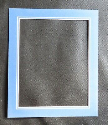 """V Groove Picture Mounts 12"""" x 10"""" ideal for photos size 10"""" x 8"""" Various Colours 2"""