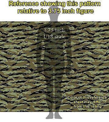 GI Joe Lt Falcon Camouflage Waterslide Decals 1//18 scale figures