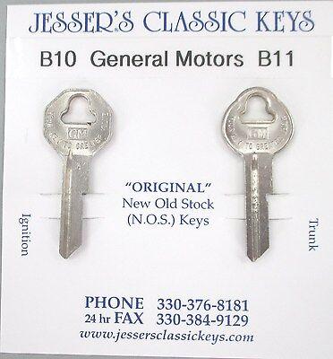 Pontiac NOS B10 B11 Briggs /& Stratton Original Keys Set B/&S 1952 1953 1954 1955