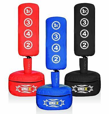 Kids Junior Free Standing Punch Bag 3-4ft Adjustable Heavy Duty Gym Training bag 2