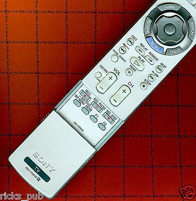 sony rm yd010 remote kds 60a2020 bravia kdl 46xbr3 kdf 50e2000 rh picclick com Sony BRAVIA Smart TV Sony BRAVIA Remote Manual