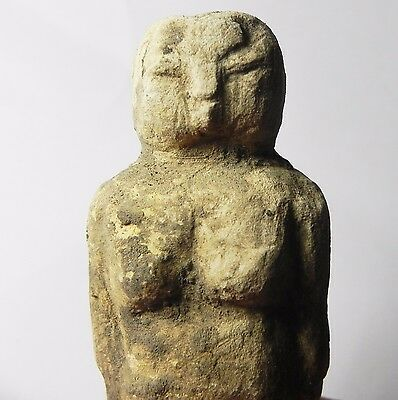Zurqieh -Tat23- Ancient Egypt , Pre-Dynastic Limestone Figure Of A Female 2
