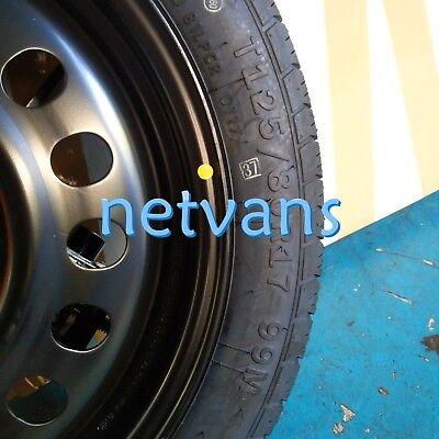"""kit rueda de repuesto galleta 17/"""" para TOYOTA C-HR con gato llave y bolsa"""