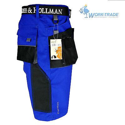 Arbeitshose Kurze Hose Kurz Bermuda Shorts Blau Schwarz Gr. S - XXXL