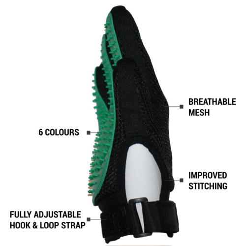 Re-designed Deshedding Pet Grooming Glove Brush Fur Remover Mitt Dog Cat Rabbit 2