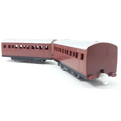 Set of 2 Express Passenger Coaches Tomy Trackmaster Thomas Train