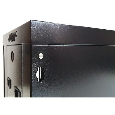 "12U 300mm Deep 19"" Rack System Wall Mount Network Cabinet (Provision for 2 Fans) 4"
