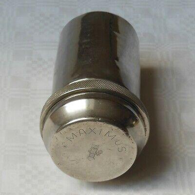 DREI-PFEIL MARKE - MAXIMUS antike Box für Spritzen und Nadeln Sterilisator WW2 3