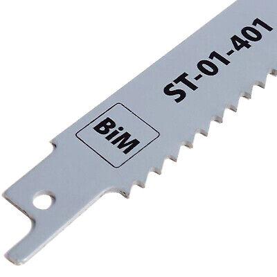 BiM Säbelsägeblatt 228mm Z 1,8mm für Metall INOX Kunststoff Pressholz Holz