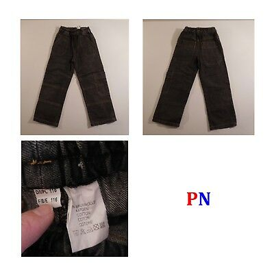 6 Pantaloni Jeans Bambino 5-6 Anni River Woods Okaou Texbasic Ted Walkins N3349 7