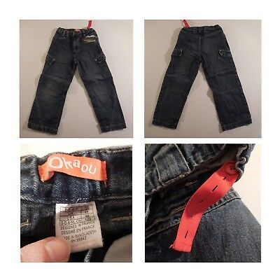 6 Pantaloni Jeans Bambino 5-6 Anni River Woods Okaou Texbasic Ted Walkins N3349 5