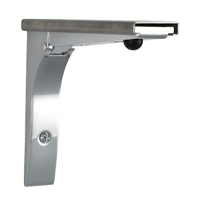 Folding Shelf Brackets Commercial Grade For Concession Stands & Food Trucks X 2 3