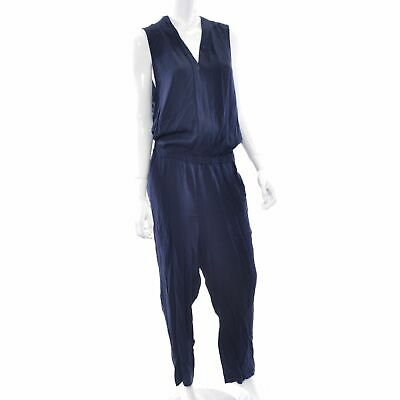 NEW TOMMY HILFIGER RED Sleeveless Vneck Jumpsuit Womens 6/8 Romper Pants NWT 4