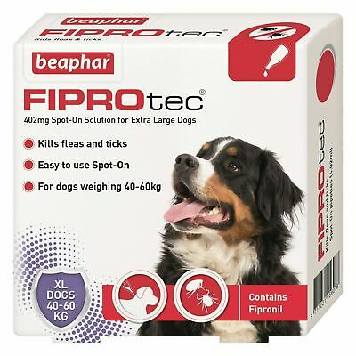 Beaphar Fiprotec FIPROtec Flea Spot On Small Medium Large XL Dog 1 4 6 Treatment 5