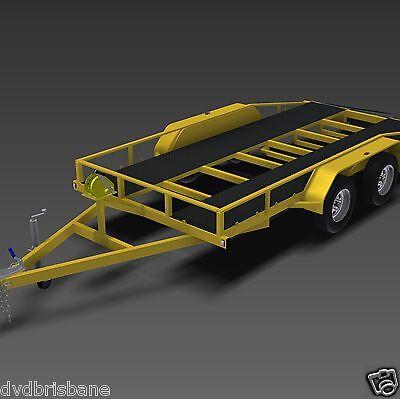 Trailer Plans    -    2500kg FLATBED CAR TRAILER PLANS    -    PRINTED HARDCOPY 8